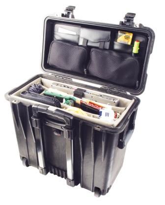 Peli műanyag védőtok, táska 1440 office irodai